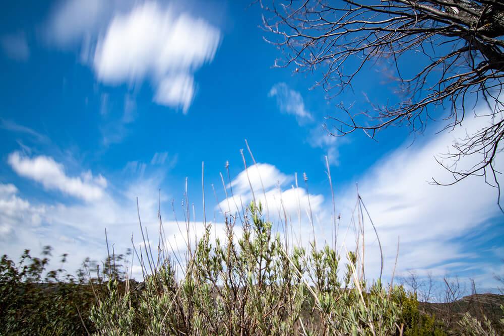 nubes sierra del rincon