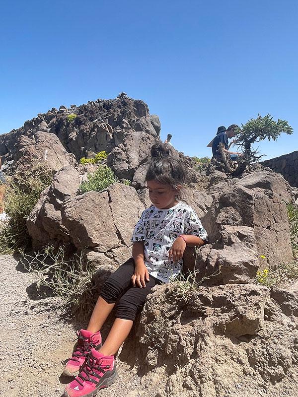 trekking roque de los muchachos