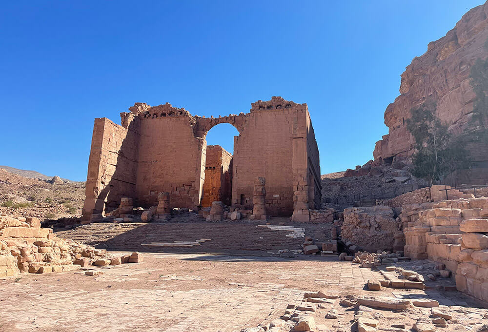 entrada a Petra