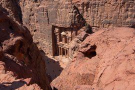 vista desde mirador Petra